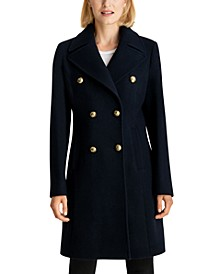 Double-Breasted Walker Coat, Created for Macy's