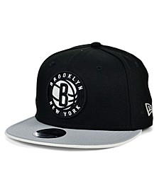 Brooklyn Nets Youth Team Color Flip Snapback Cap