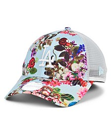 Los Angeles Dodgers Women's Floral 9FORTY Cap