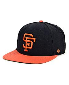 '47 Brand San Francisco Giants Coop Shot Snapback Cap