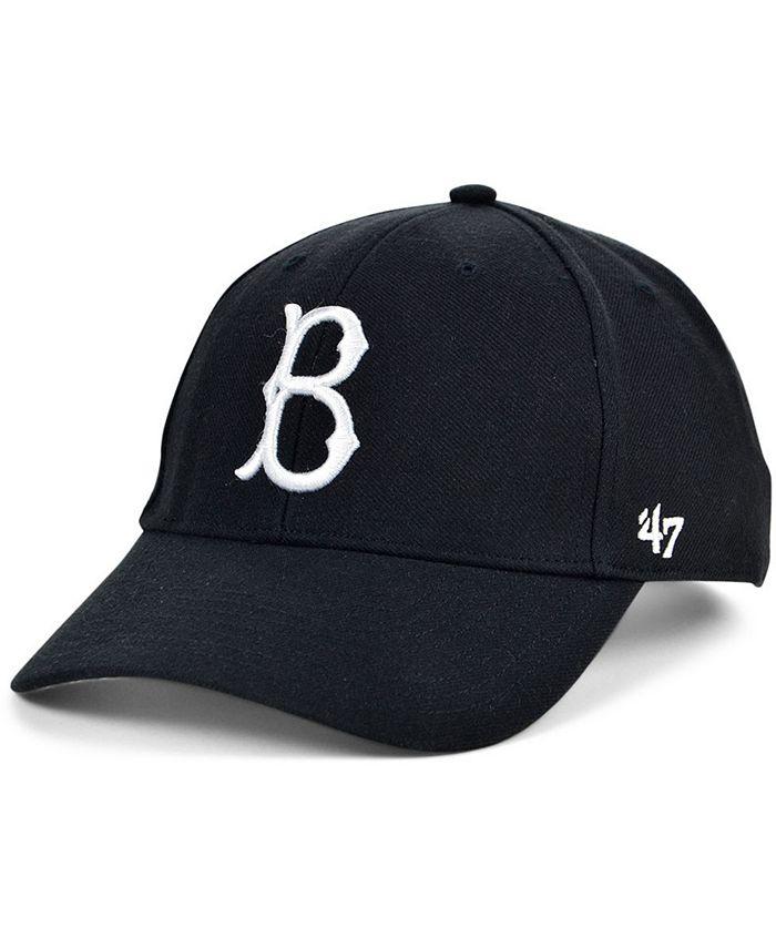 '47 Brand - Brooklyn Dodgers Black White MVP Cap