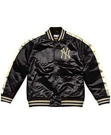 Men's New York Yankees Color Blocked Satin Jacket