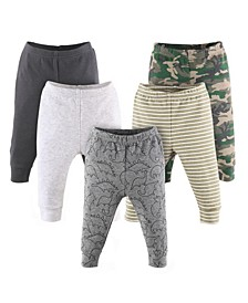 Baby Boys Pants Set, Pack of 5