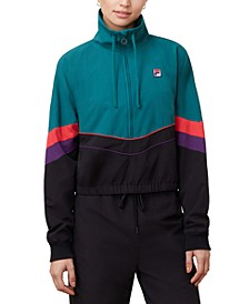 Chiaki Colorblocked Half-Zip Jacket