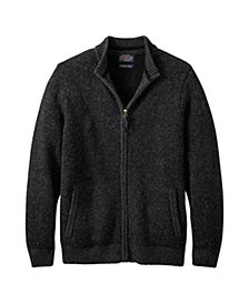 Pendleton Mens Full Zip Shetland Sweater