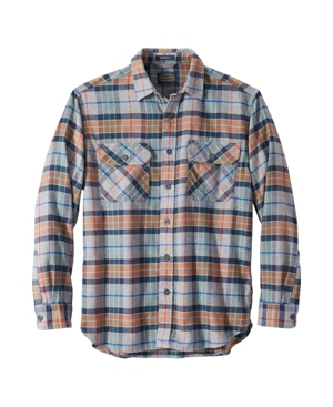 Pendleton Burnside Plaid Flannel Button-up Shirt In Grey Multi Plaid