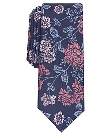 Men's Franklin Floral Slim Tie, Created for Macy's