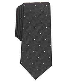 Men's Storey Slim Grid Tie, Created for Macy's