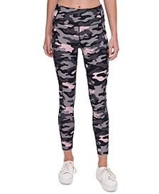 Camo-Print Leggings