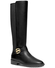 Women's Farrah Logo Buckle Tall Riding Boots