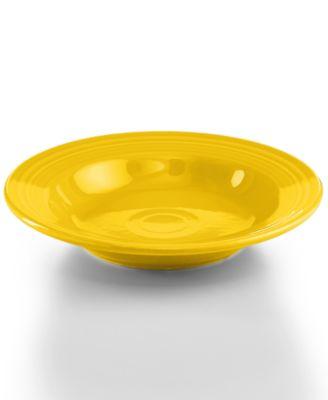 Sunflower Rim Soup Bowl