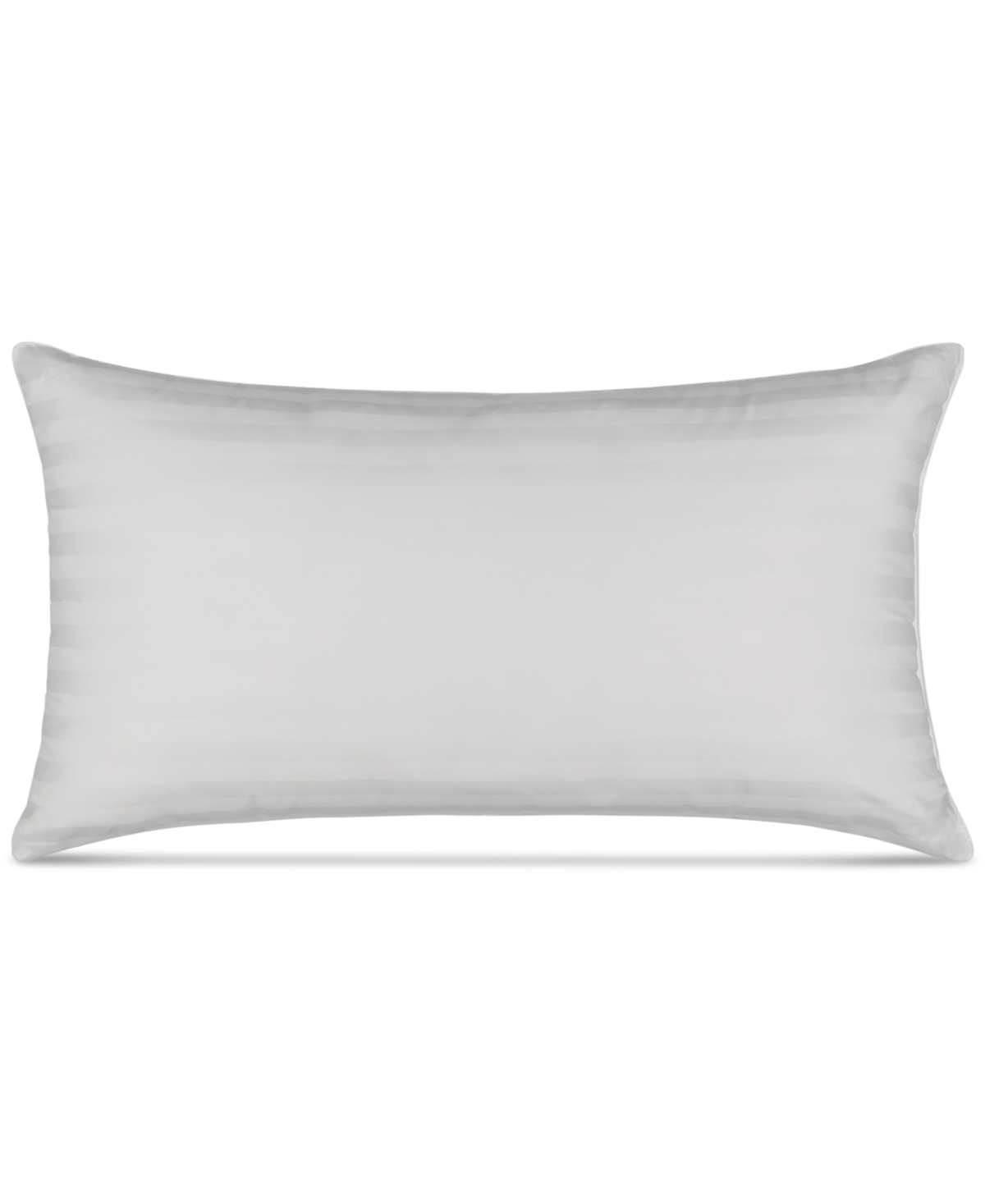 Martha Stewart Collection Allergy Wise Dobby Stripe Medium/Firm King Pillow, Created for Macy's Bedding