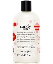 Candy Cane Shampoo, Shower Gel & Bubble Bath, 16-oz.