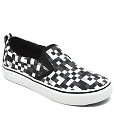 Little Boys Street Fame Casual Slip-On Sneakers from Finish Line
