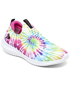 Little Girls Stretch Flex - Goovin Vibes Slip-On Sporty Casual Sneakers from Finish Line