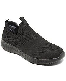 Big Boys Elite Flex Wasik Casual Slip-On Sneakers from Finish Line
