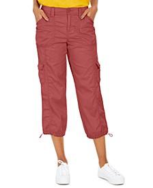 Cargo Capri Pants, Created for Macy's