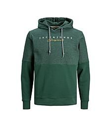Men's Color Block Long Sleeve Sweatshirt Hoodie