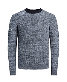 Men's Long Sleeve Organic Knit Sweater