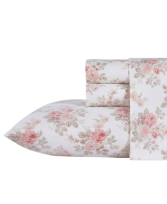 Lisalee Flannel Cotton Twin Sheet Set