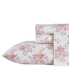 Lisalee Flannel Cotton Full Sheet Set
