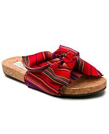 Women's Xenonc Twist-Tie Slide Sandals