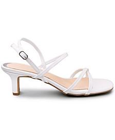 Women's Nacole Strappy Kitten Heel Sandals
