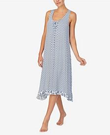Women's Midi Gown with Soft Bra