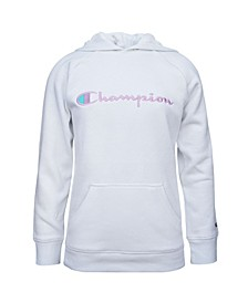 Big Girls Embroidered Champion Raglan Hoodie