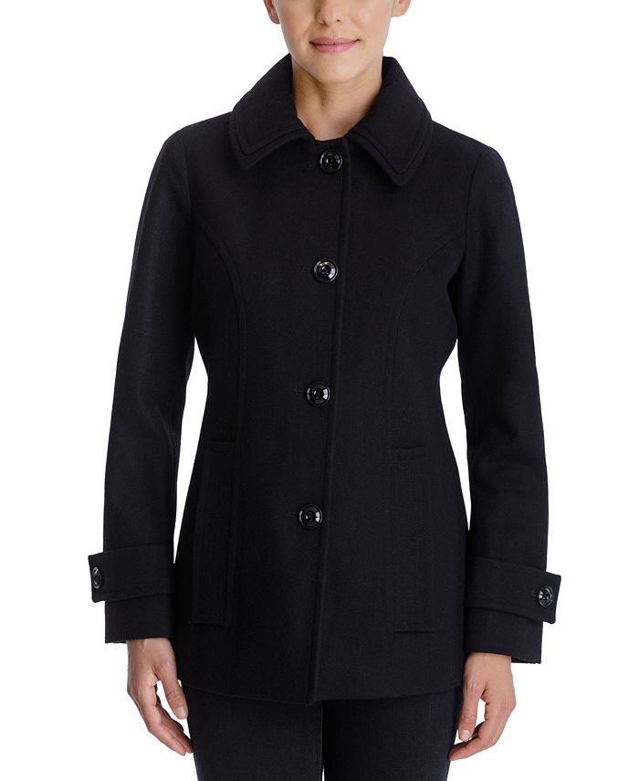 London Fog - Single-Breasted Peacoat