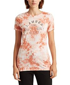 Petite Signature Tie-Dye Logo T-Shirt