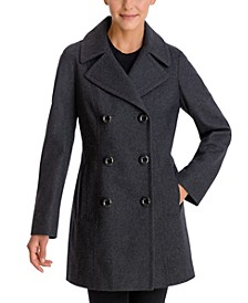 Double-Breasted Peacoat, Created for Macy's
