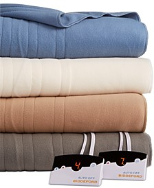Comfort Knit Fleece Electric Blanket Collection