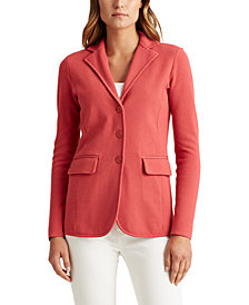 Lauren Ralph Lauren Sweater-Knit Blazer