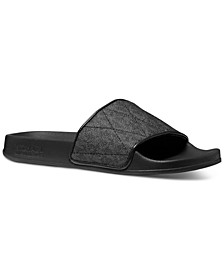 Gilmore Slide Signature Logo Sandals