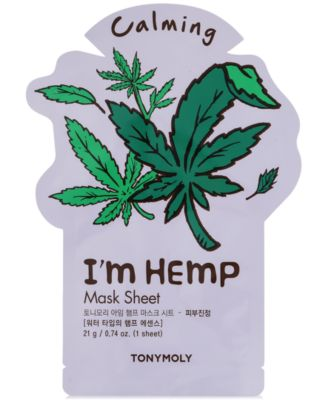 TONYMOLY I'm Hemp Sheet Mask