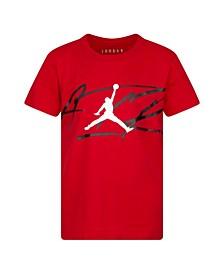 Little Boys Airbrush Logo T-Shirt