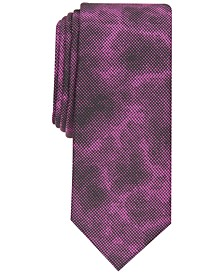 INC Men's Static Abstract Slim Tie, Created for Macy's