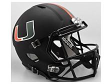 Miami Hurricanes Speed Replica Helmet