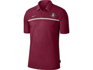 Nike Men's Florida State Seminoles Men's Sideline Coaches Polo