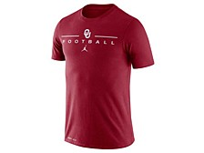 Nike Men's Oklahoma Sooners Icon Wordmark T-Shirt