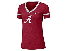 Women's Alabama Crimson Tide Slub V-neck T-Shirt