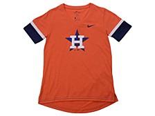 Youth Houston Astros Girls V-Neck Hero T-Shirt