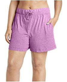 Plus Size Boxer Pajama Shorts