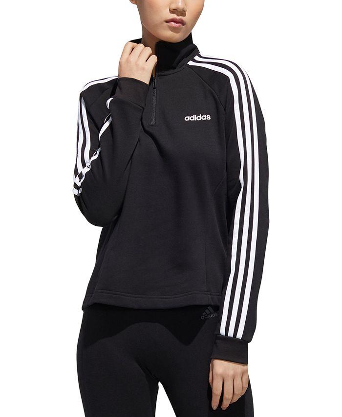 adidas - Essentials Fleece Quarter-Zip Top