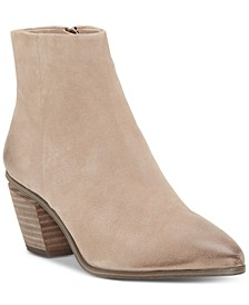 Women's Grasem Stacked Heel Booties