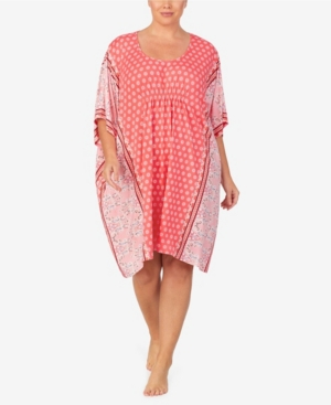 Ellen Tracy WOMEN'S PLUS SIZE SHORT CAFTAN