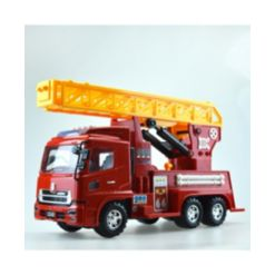 Mag-Genius Big Daddy Large Fire Truck with Lights and Sound Toy