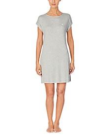 Dot-Print Sleepshirt Nightgown