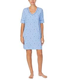 Cuddl Smart Moisture Wicking Sleep Shirt Nightgown